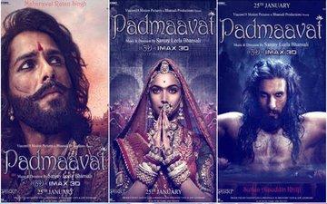 After Rajasthan & MP, Gujarat Also Bans Deepika-Ranveer-Shahid Starrer Padmaavat