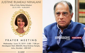Pahlaj Nihalani's Daughter-In-Law, Justine Passes Away At 43