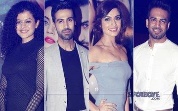 Palak Muchhal, Shiv Darshan, Natasha Fernandez,  Upen Patel At Ek Haseena Thi Ek Deewana Tha Promotional Event