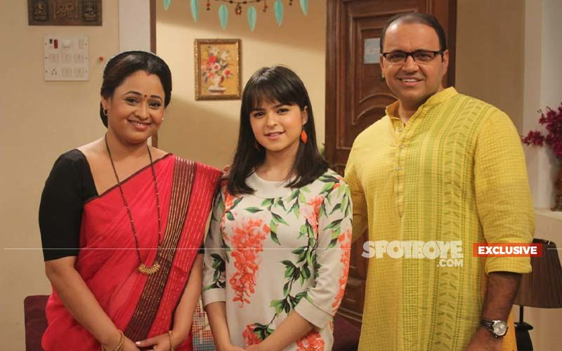 Palak Sidhwani's FIRST Picture As Sonu From The Sets Of Tarak Mehta Ka Ooltah Chashmah- EXCLUSIVE