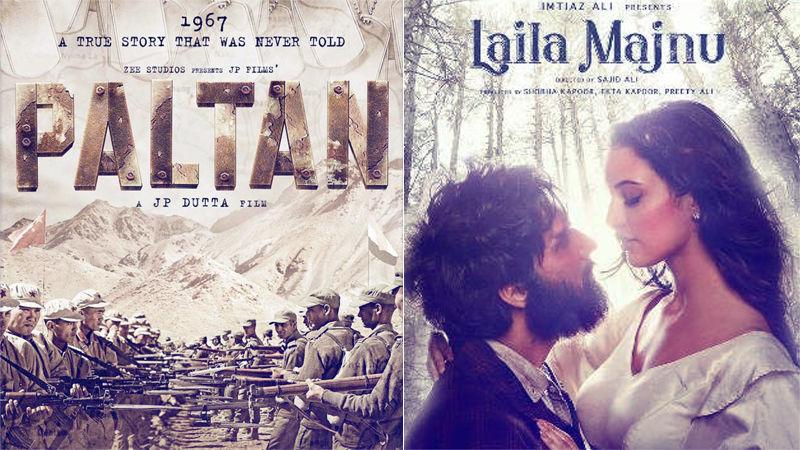 Paltan, Laila Majnu Box-Office Collection, Day 1: दोनों फिल्मों को मिली बेहद धीमी शुरुआत