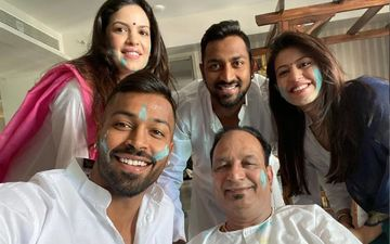 Holi 2020: Hardik Pandya Posts 'The Pandyas' Pic That Has GF Natasa Stankovic In It Too