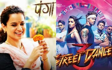 Panga, Street Dancer 3D Box-Office Collection Day 1: Kangana And Varun-Shraddha Starrers Open On Unexpectedly Low Numbers