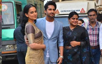 Panga Trailer Launch: Kangana Ranaut, Jassie Gill, And Director Ashwini Iyer Tiwari Arrive Looking Best