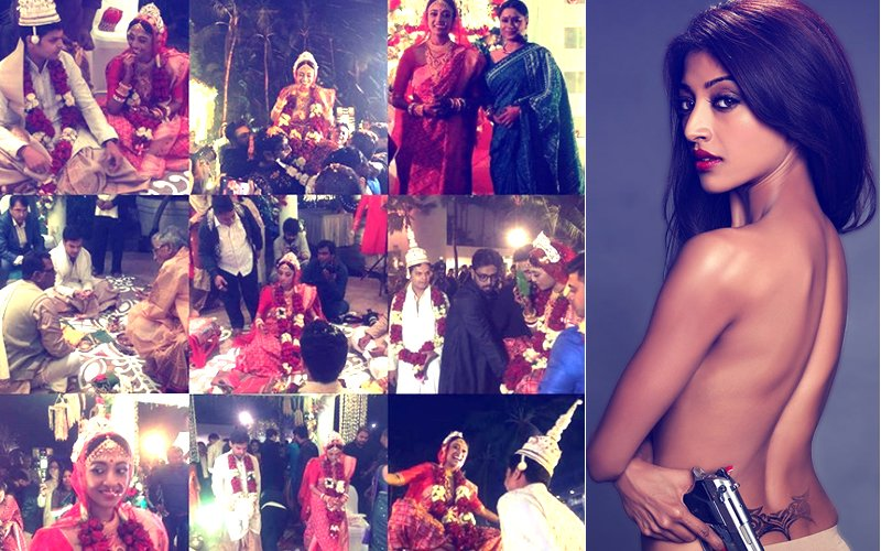 PICS: Hate Story Hottie Paoli Dam Gets Married