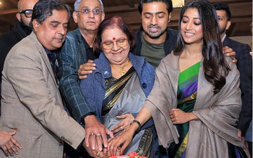 Paoli Dam, Dev Adhikari And Others Celebrate Success Of Sanjhbati, Shares Pictures On Instagram