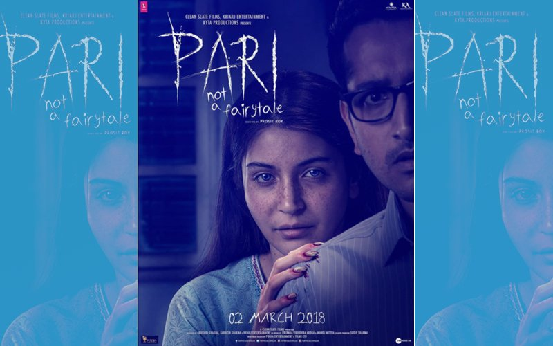 Pari New Poster: Anushka Sharma's Blood-Stained Nails & Ghostly Eyes Will Give You Goosebumps. Check it out...