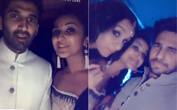 Inside Videos: Parineeti, Shraddha, Aditya, Sidharth Have A Blast At Ambani Engagement Party