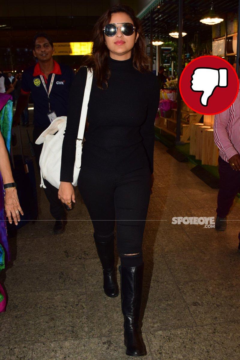 parineeti chopra snapped at mumbai airport