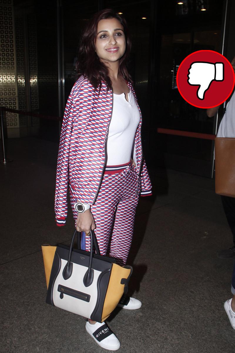 parineeti chopra snapped at the airport