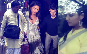 Priyanka Chopra-Nick Jonas Engagement: Parineeti Chopra Reaches Sister's Juhu Bungalow For The Puja, Pandit Ji Also Arrives