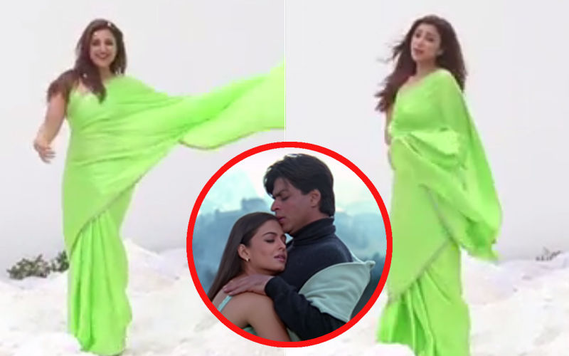 परिणीती चोपड़ा ने शाहरुख़ खान की फिल्म 'मोहब्बतें' के मोमेंट को किया रिक्रिएट, सोशल मीडिया पर हुआ वीडियो वायरल