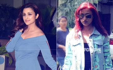 Parineeti Chopra Trolled: After Tight Blue Dress, Red Hair Mocked