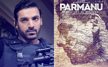 The First Poster Of John Abraham's Upcoming Film Parmanu- The Story of Pokhran Is Out!