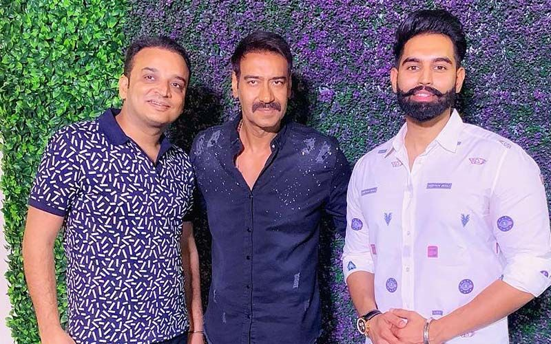Parmish Verma Attends Ajay Devgn Starrer 'Singham' 8th Anniversary Party-SEE PIC