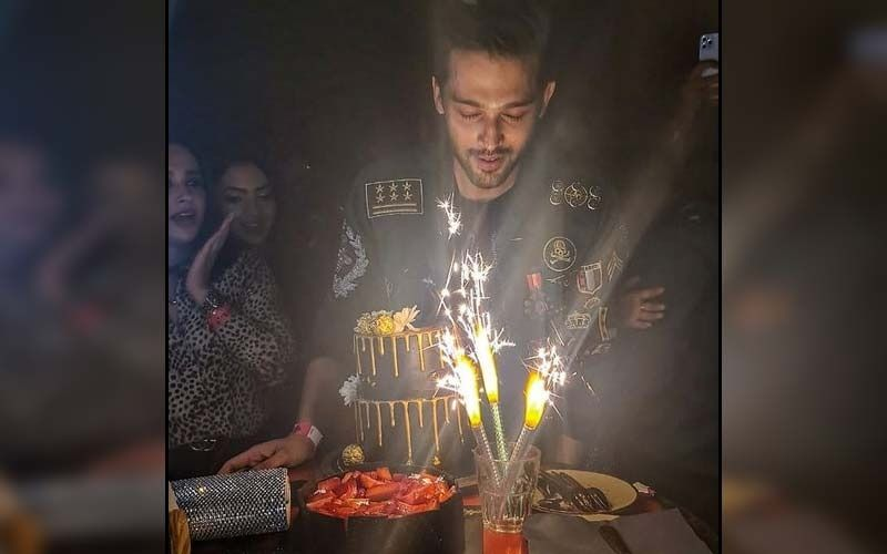 Parth Samthaan Celebrates His Birthday With Kasautii Zindagi Kay 2's Hina Khan, Sahil Anand, Arjun Bijlani, Aamna Sharif; Says 'Had A Killer Time'