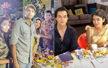 Parth Samthaan-Pooja Banerjee, Mohsin Khan-Shivangi Joshi's Iftaar Parties On Sets Of Kasautii Zindagii Kay 2, Yeh Rishta Kya Kehlata Hai