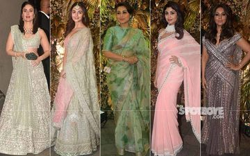 Scorchers At Armaan Jain's Reception: Kareena Kapoor Khan, Alia Bhatt, Rani Mukerji, Shilpa Shetty, Gauri Khan In Pastels