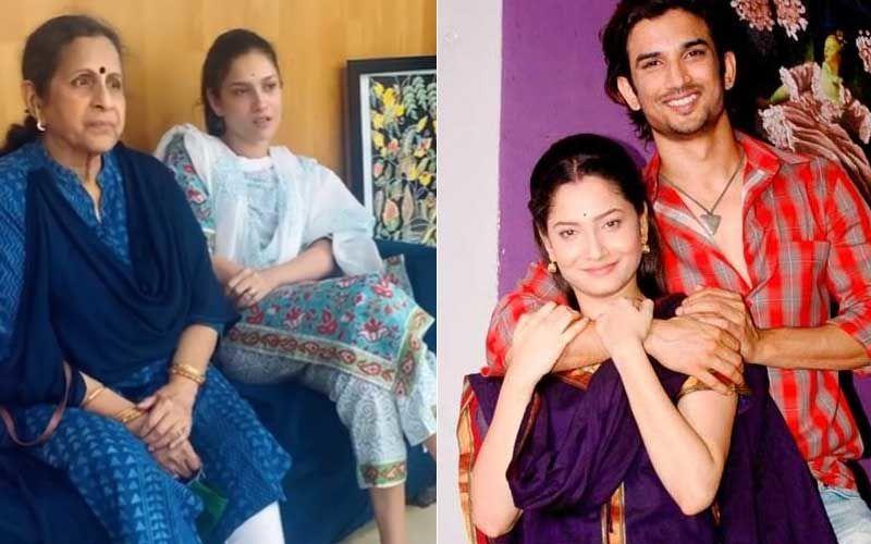 Netizens Miss Sushant Singh Rajput Dearly After Ankita Lokhande Meets Their Pavitra Rishta Co-star Usha Natkarni; Users Say, 'Can't Stop Thinking Of SSR'
