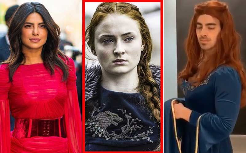 Game Of Thrones Season 8: Priyanka Chopra Jonas Wishes Sister-In-Law Sophie Turner, Joe Jonas Dresses As Sansa Stark