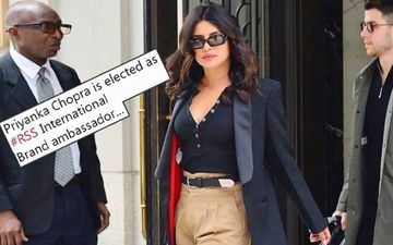'Priyanka Chopra Joins RSS,' Twitter Erupts With Hilarious Memes On PeeCee's Latest Outing In Khaki Shorts