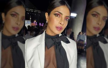 Priyanka Chopra's Beautycon LA Look Is All About Sexy Sophistication; That Sheer Blouse Spells Sleepless Nights