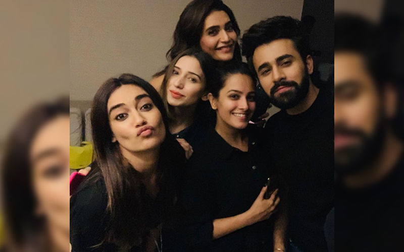 Naagin 3's Surbhi Jyoti, Anita Hassanandani And Karishma Tanna Reunite For Pearl V Puri's Birthday Bash - Watch Videos
