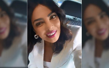 Priyanka Chopra Takes Desi Glam To The Marrakesh Film Festival; Slays In A Saree With A Sexy Off-Shoulder Blouse