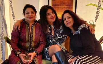 Priyanka Chopra Spends Time With Family; Enjoys B'Day Celebrations With Mom Madhu Chopra