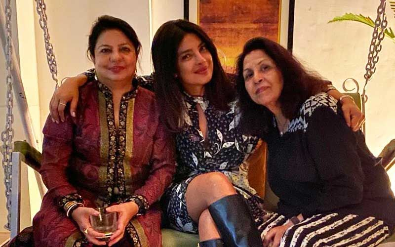Priyanka Chopra Spends Time With Family; Enjoys B'Day Celebrations With Mom Madhu Chopra
