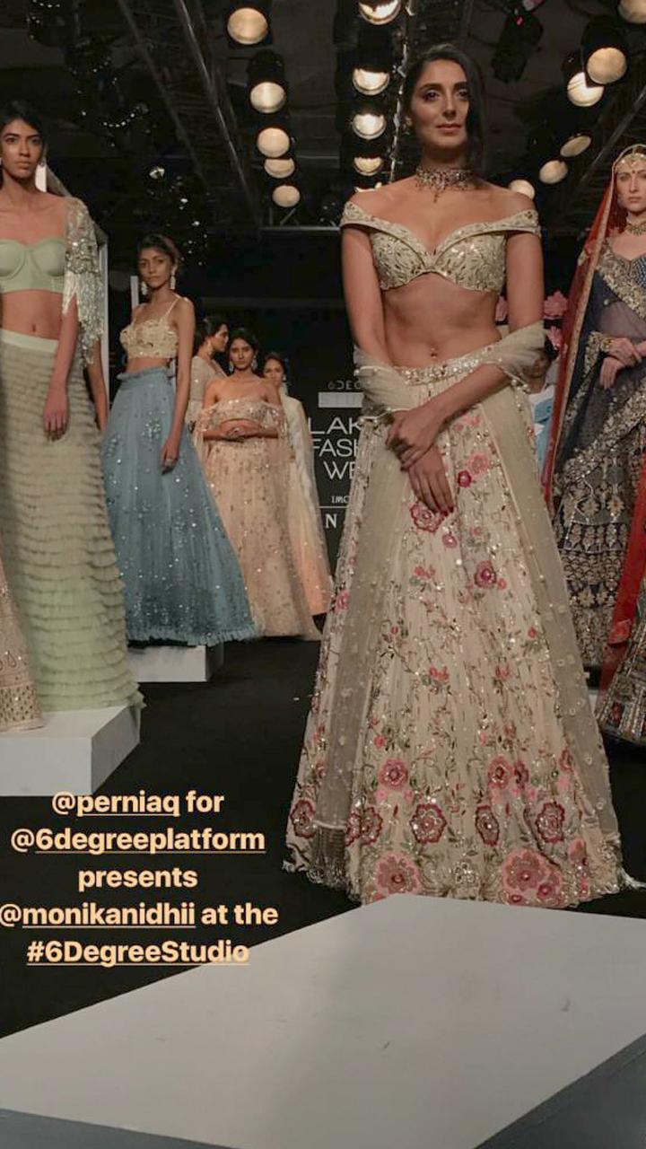 pernia qureshi at lakme fashion week 2017