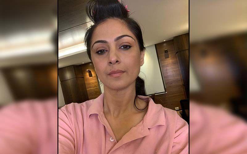 Petta Actress Simran Bagga Gets Her First Vaccine Jab