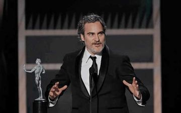 SAG Awards 2020: Joaquin Phoenix AKA Joker Pays Tribute To Heath Ledger In His Winning Speech – Video