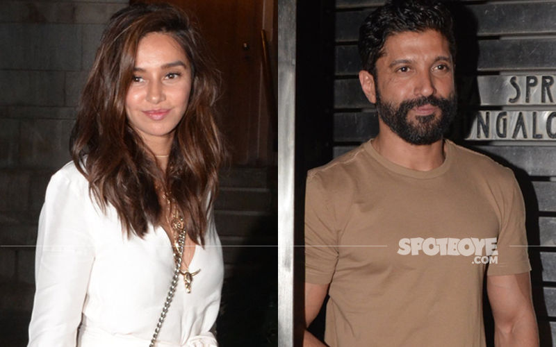 Love Is In The Air! Shibani Dandekar Attends Boyfriend Farhan Akhtar's Birthday Bash