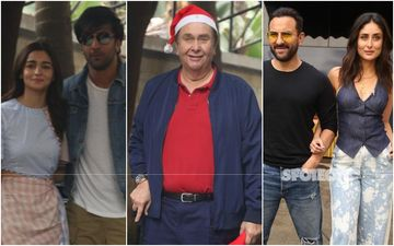 Alia Bhatt-Ranbir Kapoor, Kareena Kapoor Khan-Saif Ali Khan Attend Randhir Kapoor's Birthday Dinner; Tara Sutaria-Aadar Jain Join In