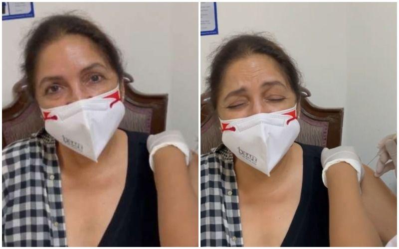 Neena Gupta Squeals 'Mummy' As She Gets Her COVID-19 Vaccine Jab; Fans Say 'Badhai Ho'- VIDEO