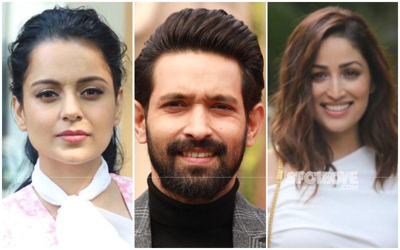 Kangana Ranaut Calls Vikrant Massey 'Cockroach', REACTS To His 'Radhe Maa' Comment On Yami Gautam's Wedding Picture: 'Lao Meri Chappal'