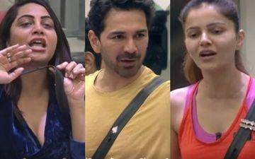Bigg Boss 14: Abhinav Shukla Asks Rubina Dilaik To Stop Being A 'Crybaby' Post Fight With Arshi Khan; Says 'Tum Sunti Nahi Ho, Tumhara Ye Problem Hai'