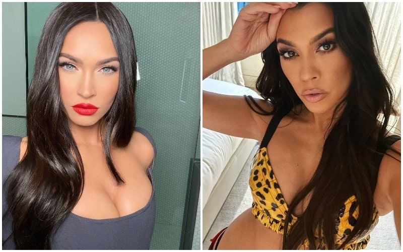 Megan Fox And Kourtney Kardashian Go Topless For Skims Photoshoot; Their Sizzling Chemistry Is Oozing In Every Frame
