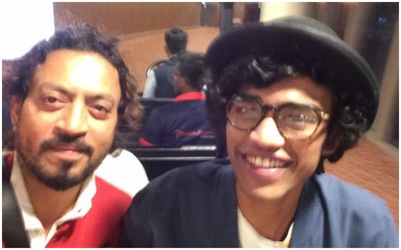 Late Actor Irrfan Khan's Son Babil Shares Precious Throwback Pictures From When He And His Father Tried To Copy Each Other's Looks