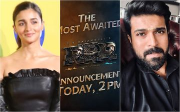 RRR: Makers Of Alia Bhatt, Ram Charan, Jr NTR Starrer To Make A Huge Announcement At 2 PM Today; Fans Trend #RRRMovie In Anticipation