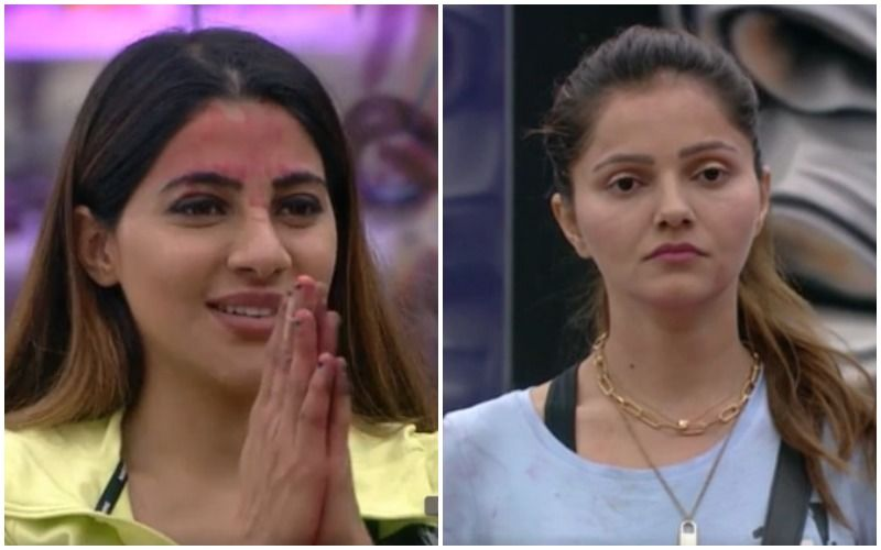 Bigg Boss 14: Paras Chhabra Declares Rubina Dilaik The Winner Of 'Ticket To Finale' Task; She Saves Nikki Tamboli And Makes Her The First Finalist