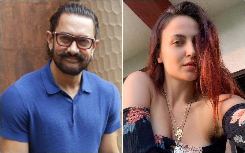 LEAKED VIDEO Of Aamir Khan And Elli AvRam Grooving Sensually To A Club Song For Amin Hajee's Film Koi Jaane Na Goes Viral- WATCH