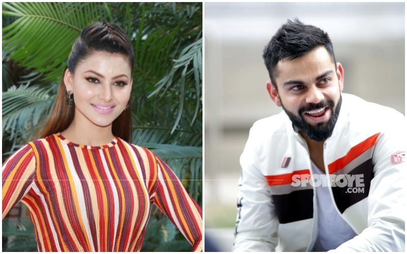 Urvashi Rautela Is Confused As Her Mother Sends Her A Picture Of Young Virat Kohli With His Mother; Asks Fans 'What's The Hidden Motive?'