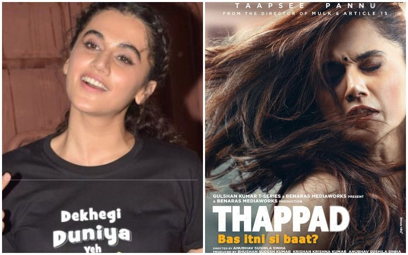 66th Filmfare Awards 2021: Taapsee Pannu Shares A Heartfelt Post As She Bags The Best Actress Award; Says 'Thappad Keeps Leaving Memories'- WATCH