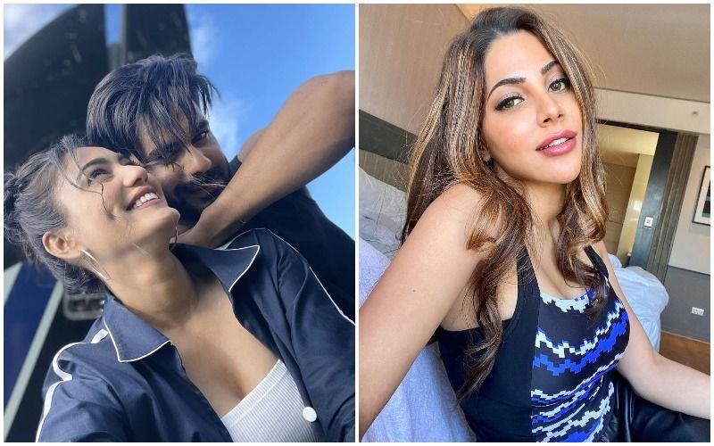 Khatron Ke Khiladi 11: Vishal Aditya Singh Drops Lovey-Dovey Pictures With Sana Makbul; Nikki Tamboli Comments 'Ufff Love Is In The Air'