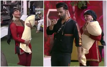 Bigg Boss 14: Meet Rakhi Sawant- Rahul Vaidya's Baby In This HILARIOUS Promo; Aly Goni- Rubina Left In Splits As Rahul Pretends To Be Rakhi's Drunk Lover