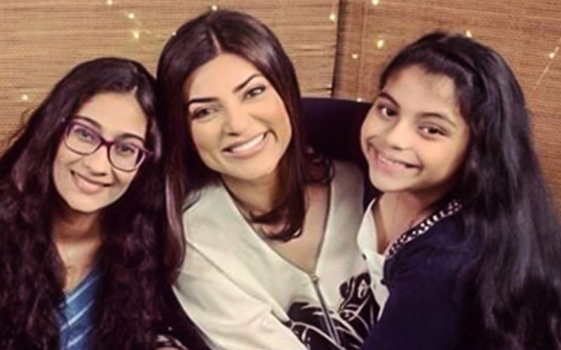 Sushmita Sen Says 'Alisah Sen Inspires Me'; Shares A Video Of Her Daughter Reciting An Essay On Adoption- WATCH