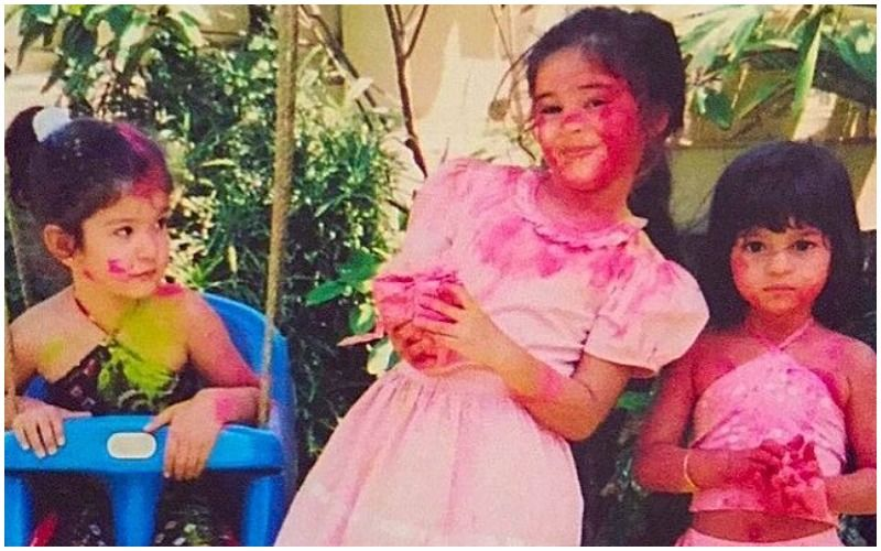 Holi 2021: Ananya Panday Digs Out A Childhood Pic Of Her Celebrating With BFFs Suhana Khan And Shanaya Kapoor; Farah Khan Gushes Over Them
