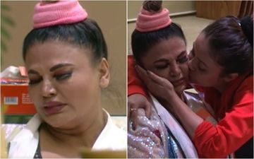 Bigg Boss 14: Rakhi Sawant Breaks Into Tears As Devoleena Advises Her To End Marriage With Ritesh; Says 'I Can't, My Babies Need A Father's Name'